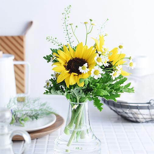 お花の定額制アプリ「ハナノヒ」 っ自分のタイミングで受け取れる