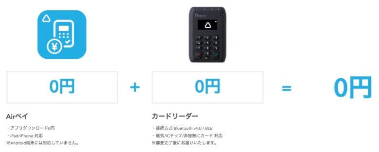 Airペイ(エアペイ) 料金プラン